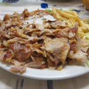 kebab piatto